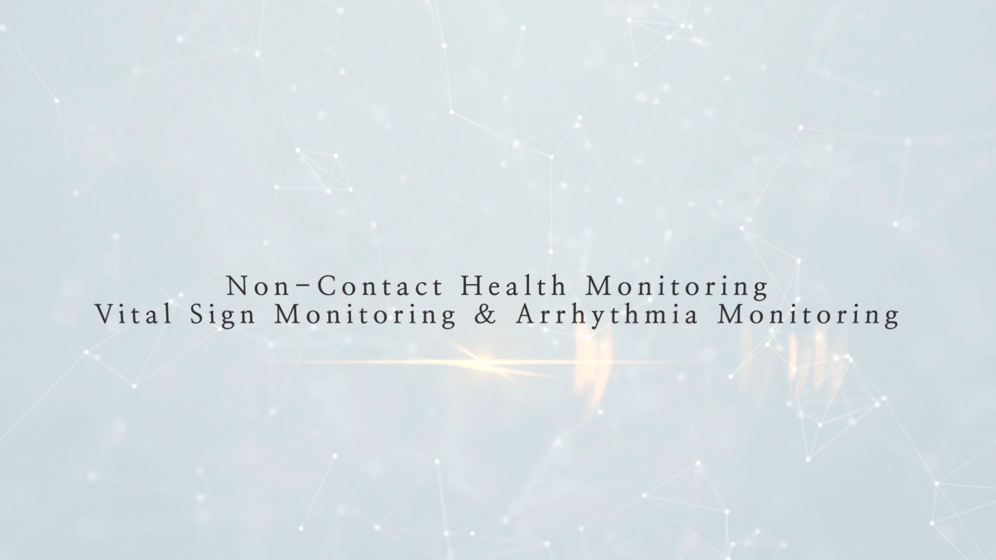 [테크블랙홀] Vital Sign Monitoring & Arrhythmia Monitoring